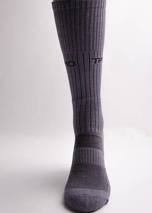 """Носки треккинговые  с текстурными термозонами """"GREY"""", фото 2"""