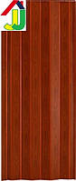 Дверь гармошка Melody Vinci Decor Фруктовое Дерево, двери межкомнатные, раздвижные ПВХ, скрытые пластиковые