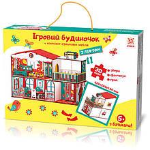 Конструктор Будиночок кольоровий ігровий з ліфтом Зірка 76 ел 346657, КОД: 1394277