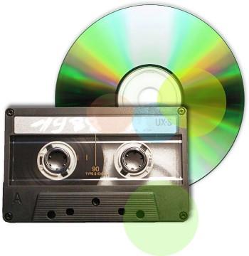 Оцифровка аудиокассет в Днепропетровске