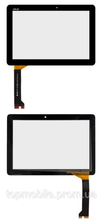 Тачскрин Asus ME102A MeMO Pad 10 (K00F), черный , #MCF-101-0990-01-FPC-V2.0 /V3.0/V4.0(сенсор, стекло)
