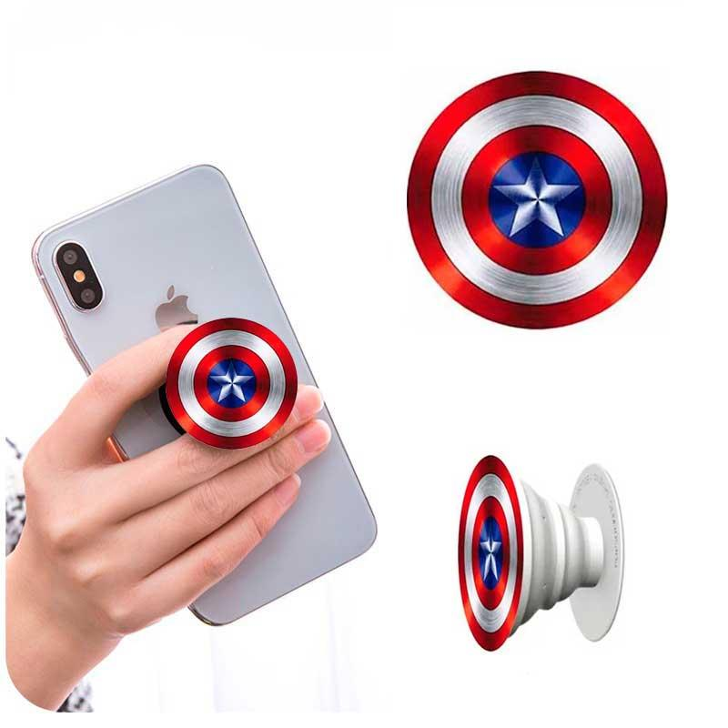 """Попсокет держатель для телефона PopSocket """"Капитан Америка"""" №4"""