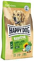 Корм для собак сухой  Happy Dog Premium Natur Croq Lamm Reis Хеппи Дог Натур Крок с ягненком и ри, КОД: 1618788