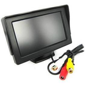 Монитор для камеры заднего вида Terra LCD Color 5 дюймов Черный mt-21, КОД: 1301062