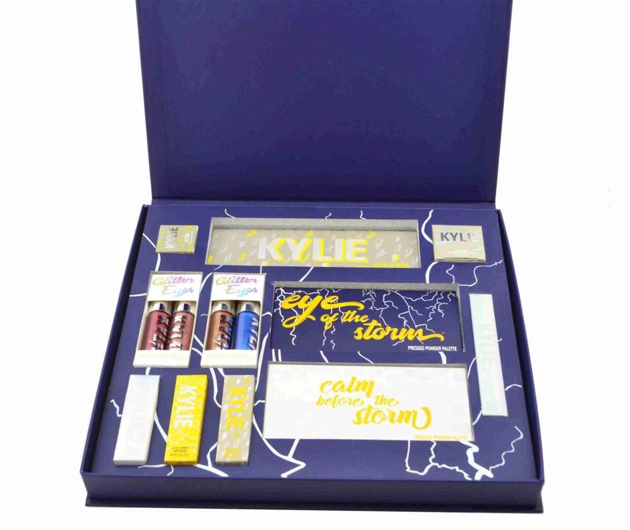 Подарочный набор косметики Kylie Weather Collection синий Подарочный косметический набор KYLIE JENNER синий