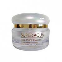 Крем для лица с экстрактом слизи улитки Missha Super Aqua Cell Renew Snail Cream 52 мл 8809530039, КОД: 1721412
