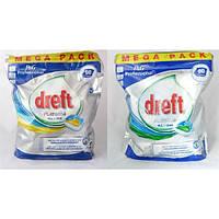 Таблетки для посудомоечных машин Dreft Platinum 90 шт