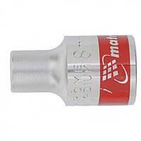 Головка торцевая MТХ 8 мм двенадцатигранная CrV под квадрат 1 2 хромированная 136769, КОД: 1696124