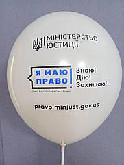 Печать на воздушных шарах (Пример № 23)