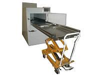 Тележка гидравлическая для транспортировки тел