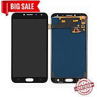 Модуль (дисплей + сенсор) для Samsung J400F Galaxy J4 OLED черный