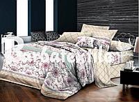 Красивое постельное белье полуторный сатиновое