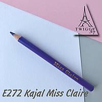 Олівець для очей каял E272 Miss Claire Soft Kajal Eyeliner
