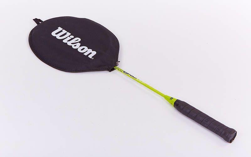 Ракетка для бадминтона в чехле Wilson WRT822000 (1шт.)