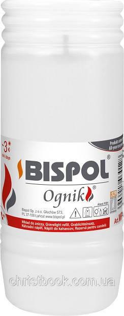 Свічка вкладиш змінна Bispol Ognik 3 дні 14.5 х 5.6 см (WP3)