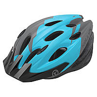 Шолом велосипедний KLS Blaze 018 S M 54-58 см Black-Blue 8585019380043, КОД: 1781090