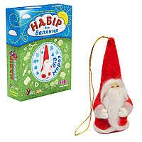 Набор для творчества Умняшка Валяние Дед Мороз ВАЛ-006, КОД: 1658674
