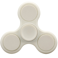 Спиннер матовый Hand spinner игрушка вертушка White hubCGif55705, КОД: 1394168