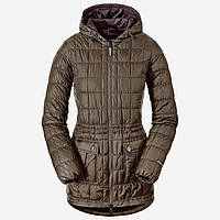 Куртка Eddie Bauer Women Super Sweater Down Parka Mushroom XS Коричневый 5085MR, КОД: 1700543