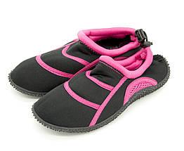 Акватапки peperts 31 Черно-розовый CoralTap black-pink - 31 19.5 cм, КОД: 1397340