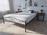 Кровать MELBI Элис Люкс Двуспальная 140х190 см Коричневый, КОД: 1389488