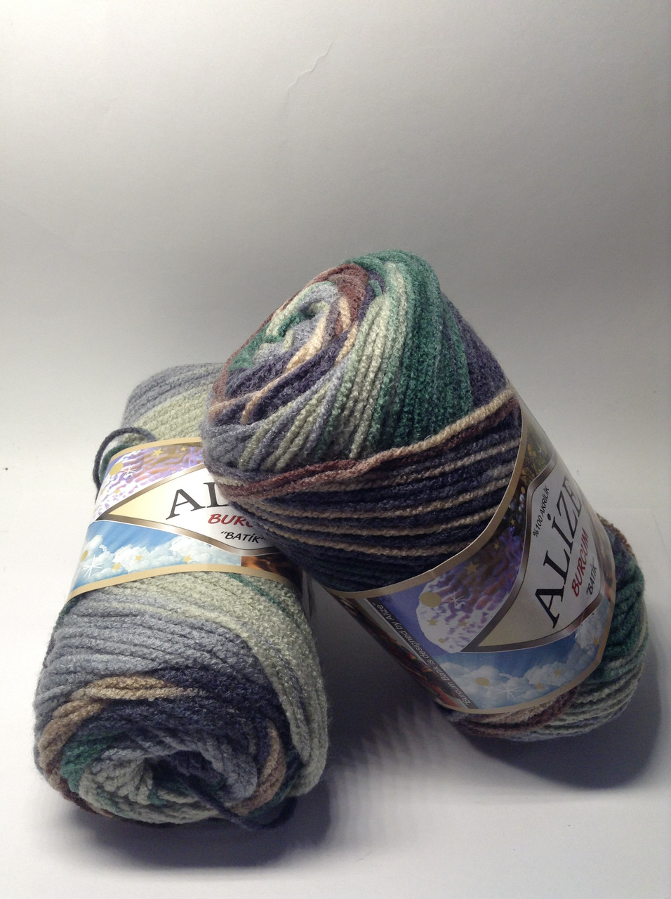 Пряжа burcum batik Alize (100% акрил)
