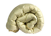 """Одеяло лебяжий пух """"Бежевое"""" евро, фото 1"""
