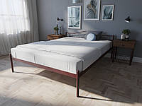 Кровать MELBI Элис Двуспальная 140х190 см Бордовый лак, КОД: 1391141