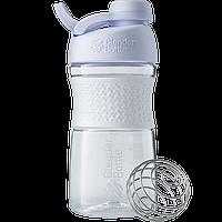 Спортивная бутылка-шейкер BlenderBottle SportMixer Twist 590 ml White, КОД: 977662