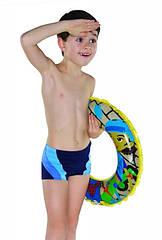 Детские плавки для мальчика Shepa 034 размер 110 Синие sh0358, КОД: 740796