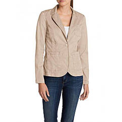 Блейзер Eddie Bauer Womens Legend Wash Stretch Blazer STONE 36 Бежевый 0086STN-S, КОД: 1212903