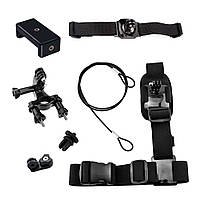 Набор креплений AIRON ACS-6 на велосипед для экшн-камер GoPro, AIRON, SONY, ACME, Xiaomi, SJCam,, КОД: 1475700