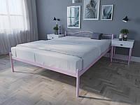 Кровать MELBI Лара Двуспальная 140х190 см Розовый, КОД: 1390041
