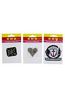 Набор аппликаций KWM 3 штуки 14х9 см Разноцветный K10-550288, КОД: 1791161
