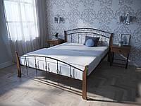 Кровать MELBI Летиция Вуд Двуспальная 120200 см Коричневый КМ-006-02-6кор, КОД: 1456817