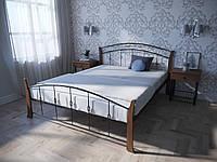 Кровать MELBI Летиция Вуд Двуспальная 160190 см Черный КМ-006-02-9чер, КОД: 1456850