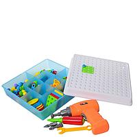 Набор инструментов Creative Puzzle с мозаикой 193 элемент VD163811775, КОД: 1629059