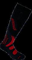 Горнолыжные носки Spring Темно-серый с красным 921-N dark grey-red L42-45, КОД: 1495446
