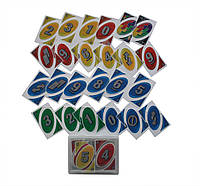 Карты пластиковые Uno 15.5х10.5х2.5 см 32408, КОД: 1389174