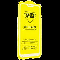 Защитное стекло 9D Glass Full Glue Triplex для Xiaomi Redmi 6 Pro Белый 104179, КОД: 1537205