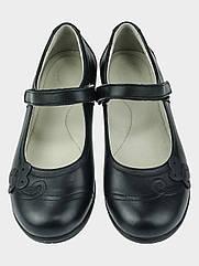 Детские туфли 11 SHOES 32 Черные LR-324  32, КОД: 1534009