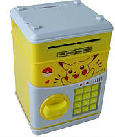 Электронный сейф-копилка с кодовым замком Пикачу 101259, КОД: 1678460