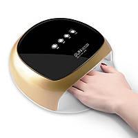 Лампа для сушки гель-лака SUN 4S Plus 52W UV LED Gold hubUaaw47526, КОД: 1141540
