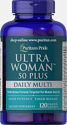Вітаміни для жінок Puritan's Pride Ultra Woman 50 Plus 120capl