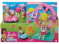 Игровой набор кукла Барби Челси Колесо обозрения Веселый городок Barbie Club Chelsea GHV82, фото 10