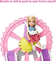 Игровой набор кукла Барби Челси Колесо обозрения Веселый городок Barbie Club Chelsea GHV82, фото 3