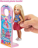 Игровой набор кукла Барби Челси Колесо обозрения Веселый городок Barbie Club Chelsea GHV82, фото 4
