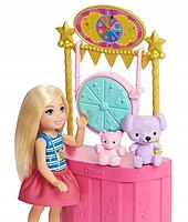 Игровой набор кукла Барби Челси Колесо обозрения Веселый городок Barbie Club Chelsea GHV82, фото 6