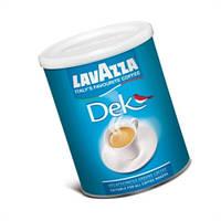 Кофе молотый без кофеина Lavazza e Dek  в жестяной банке  250 g