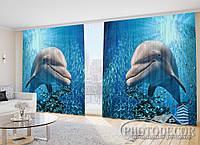 """Фото Шторы """"Дельфин и рыбки"""""""
